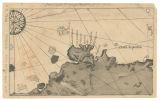 Imagen de apoyo de  Fragmento del mapa de Juan de la Cosa