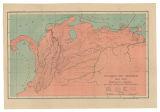 Imagen de apoyo de  Invasión de Morillo 1815-1816: Itinerarios seguidos por las columnas invasoras
