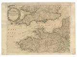 Imagen de apoyo de  Parte Occidentale dellaFrancia que si comprende la Bassa Bertagna, la Normandia, la Piccardia, Ilgoverno de Maine my ou: Orleans e parte dell Isola de Francia, con il passo della Manica e part dell Inglaterra
