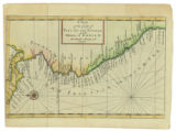 Imagen de apoyo de  A chart of the coasts of Peru, Quito, Popayan and the isthmus of Darien