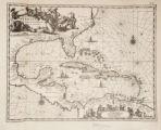 Imagen de apoyo de  Insulae Americanae in oceano Septentrionalli cum terris adiacentibus