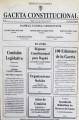 Imagen de apoyo de  Gaceta Constitucional - No. 100
