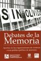 Debates de la Memoria: Aportes de las organizaciones de víctimas a una política pública de me